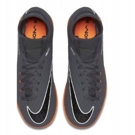 Nike Hyphantomx 3 Academy Df Ic Jr AH7291-081-S futballcipő szürke szürke 2