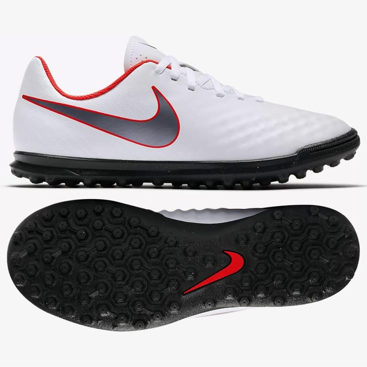 Labdarúgás cipő Nike Magista ObraX 2 Club Tf Jr AH7317 107 fehér fehér