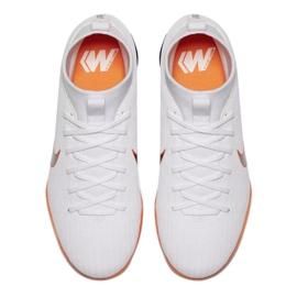 Nike Mercurial SuperflyX 6 Academy Gs Tf Jr AH7344 107 fehér fehér