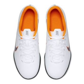 Nike Mercurial Vapor 12 Club Gs Ic Jr AH7354-107 beltéri cipő fehér fehér 1