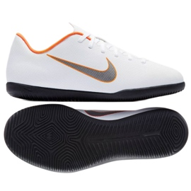 Nike Mercurial Vapor 12 Club Gs Ic Jr AH7354-107 beltéri cipő fehér fehér 2