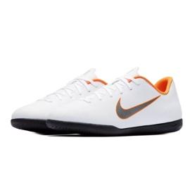 Nike Mercurial Vapor 12 Club Gs Ic Jr AH7354-107 beltéri cipő fehér fehér 3