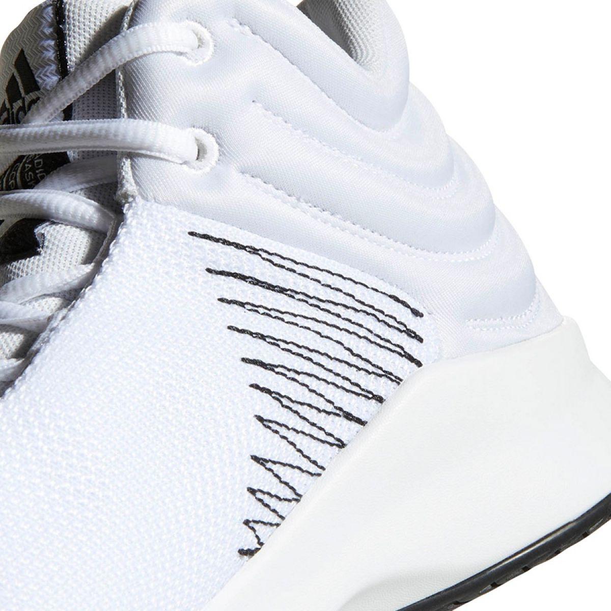 Adidas Pro Sprak 2018 M B44966 kosárlabdacipő fehér fehér