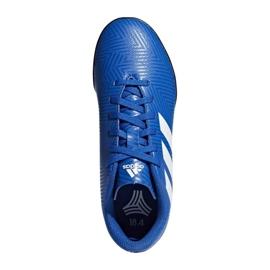 Adidas Nemeziz Tango 18.4 Tf Jr DB2381 futballcipő kék sokszínű 1