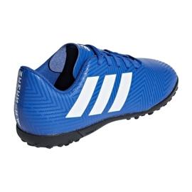 Adidas Nemeziz Tango 18.4 Tf Jr DB2381 futballcipő kék sokszínű 2