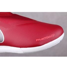 Beltéri cipő Nike Phantom Vsn Academy Df Ic Jr AO3290-606 piros piros 2