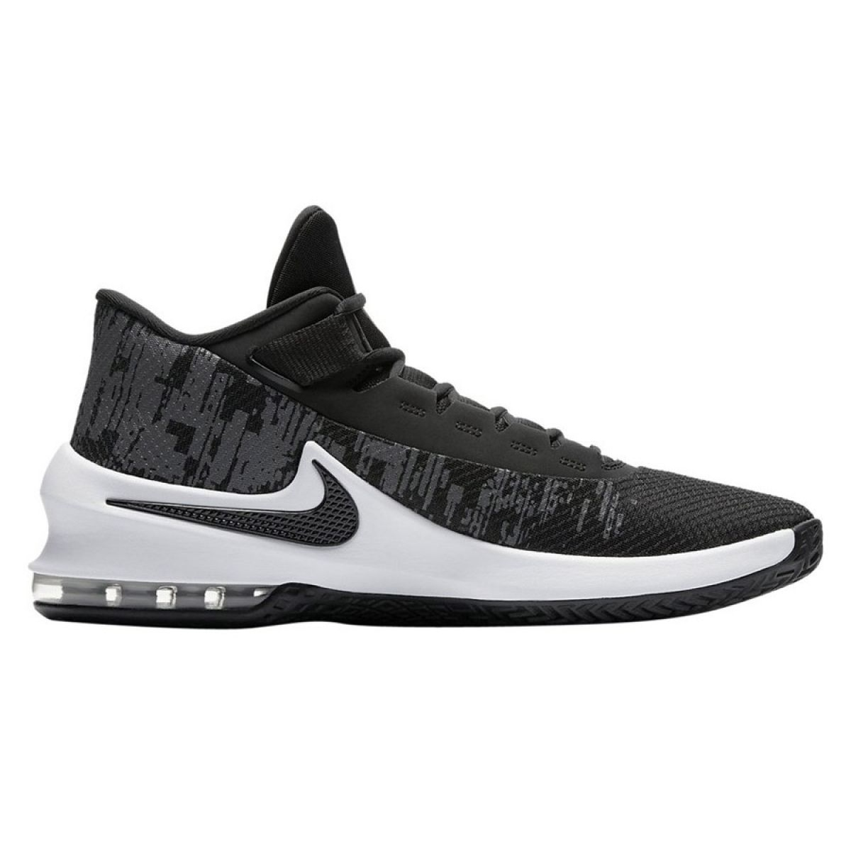 Kosárlabda cipő Nike Air Max Infuriate 2 Mid M AA7066 001 fekete fekete