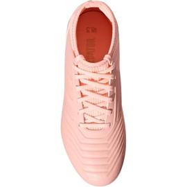Foci csizma adidas Predator 18.3 Fg Jr DB2317 rózsaszín rózsaszín 2
