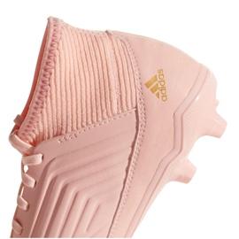 Foci csizma adidas Predator 18.3 Fg Jr DB2317 rózsaszín rózsaszín 4