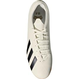 Beltéri cipő adidas X Tango 18.4 az M DB2485-ben fehér fehér 1