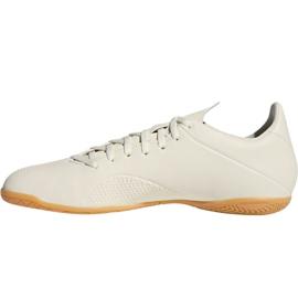 Beltéri cipő adidas X Tango 18.4 az M DB2485-ben fehér fehér 5