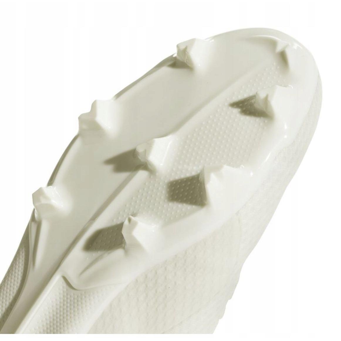 Foci cipő adidas X 18.3 Fg Jr DB2417 fehér fehér
