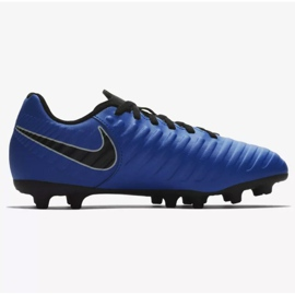 Labdarúgás cipő Nike Jnr Tiempo Legend 7 Club Mg Jr AO2300-400 kék sötétkék 1