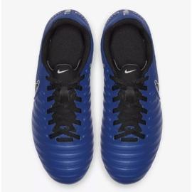 Labdarúgás cipő Nike Jnr Tiempo Legend 7 Club Mg Jr AO2300-400 kék sötétkék 2