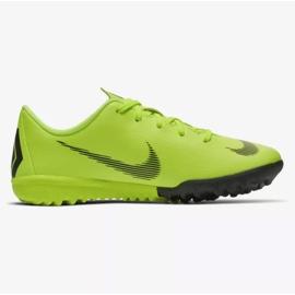 Nike Mercurial VaporX 12 Academy Tf Jr AH7353-701 futballcipő sárga sárga 7