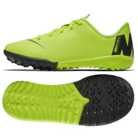 Nike Mercurial VaporX 12 Academy Tf Jr AH7353-701 futballcipő sárga sárga 9