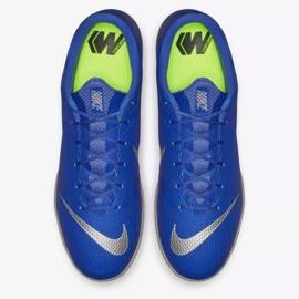 Nike Mercurial Vapor Ic M AH7383-400 beltéri cipő kék kék 2
