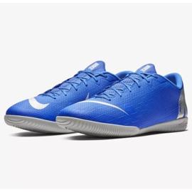 Nike Mercurial Vapor Ic M AH7383-400 beltéri cipő kék kék 3