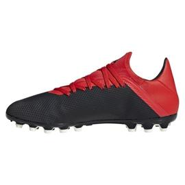 Foci cipő adidas X 18.3 Ag M F36627 fekete fekete 1