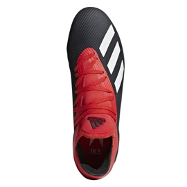Foci cipő adidas X 18.3 Ag M F36627 fekete fekete 2