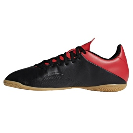 Adidas X 18.4 M BB9405 beltéri cipőben fekete fekete 1