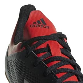 Adidas X 18.4 M BB9405 beltéri cipőben fekete fekete 3