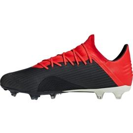 Foci cipő adidas X 18.2 Fg M BB9362 fekete fekete 2
