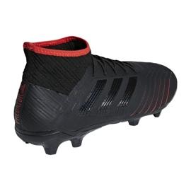 Adidas Predator 19.2 Fg M D97939 futballcipő fekete fekete 2