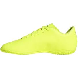 Beltéri cipő adidas Nemeziz 18.4, Jr CM8519 sárga sárga 1