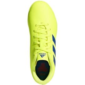 Beltéri cipő adidas Nemeziz 18.4, Jr CM8519 sárga sárga 2