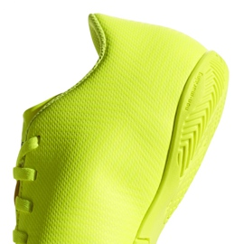 Beltéri cipő adidas Nemeziz 18.4, Jr CM8519 sárga sárga 4