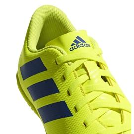Beltéri cipő adidas Nemeziz 18.4, Jr CM8519 sárga sárga 5