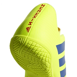 Beltéri cipő adidas Nemeziz 18.4, Jr CM8519 sárga sárga 6