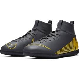Beltéri cipő Nike Mercurial Superfly X 6 Club Ic Jr AH7346-070 szürke fekete 4