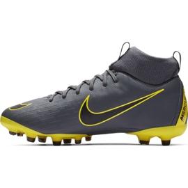 Labdarúgás cipő Nike Mercurial Superfly 6 Academy Mg Jr AH7337 070 szürke szürke ezüst