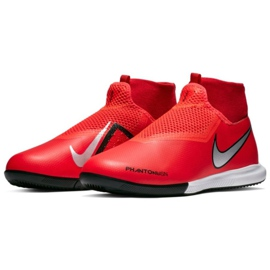 Beltéri cipő Nike Phantom Vsn Academy Df Ic Jr AO3290-600 piros piros 3