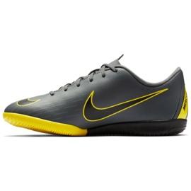 Nike Mercurial VaporX 12 Academy Gs Ic Jr AJ3101-070 beltéri cipő szürke szürke 1