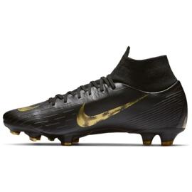 Labdarúgás cipő Nike Mercurial Superfly 6 Pro Fg M AH7368-077 fekete fekete 1