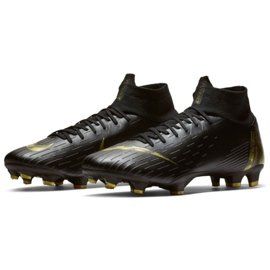Labdarúgás cipő Nike Mercurial Superfly 6 Pro Fg M AH7368-077 fekete fekete 3