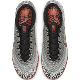 Nike Mercurial Vapor X 12 Academy futballcipő Neymar Tf M AO3121-170 szürke szürke / ezüst 2