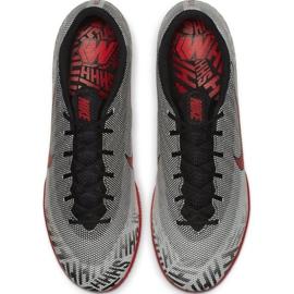 Nike Mercurial Vapor X 12 Academy cipő Neymar Ic M AO3122-170 szürke szürke / ezüst 2