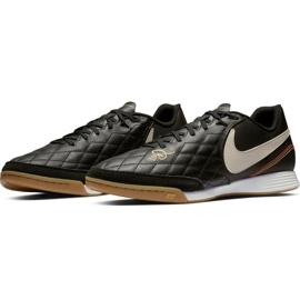 Beltéri cipő Nike Tiempo Legend X 7 Academy 10R Ic M AQ2217-027 fekete fekete 3