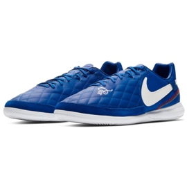 Beltéri cipő Nike Tiempo Lunar LegendX 7 Pro 10R Ic M AQ2211-410 kék kék 3