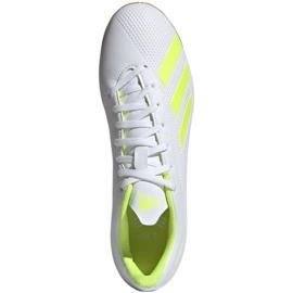 Beltéri cipő adidas X 18.4 M BB9407-ben fehér sokszínű 1