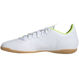 Beltéri cipő adidas X 18.4 M BB9407-ben fehér sokszínű 2
