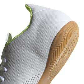 Beltéri cipő adidas X 18.4 M BB9407-ben fehér sokszínű 4