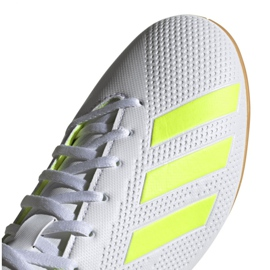 Beltéri cipő adidas X 18.4 M BB9407-ben fehér sokszínű 5