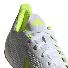 Beltéri cipő adidas X 18.4 M BB9407-ben fehér sokszínű 6