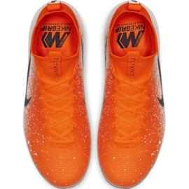 Labdarúgás cipő Nike Mercurial Superfly 6 Elite Fg Jr AH7340-801 piros sokszínű 1