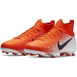 Labdarúgás cipő Nike Mercurial Superfly 6 Elite Fg Jr AH7340-801 piros sokszínű 3